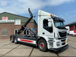 containersysteem vrachtwagen Iveco AD260SY/PS CNG | Retarder | VDL Hooklift | Manual 2015