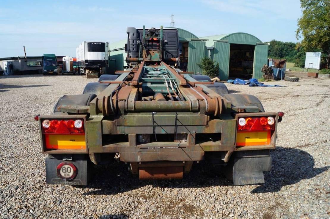 container chassis oplegger Van Hool 3-assige oplegger 2001