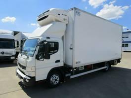 koelwagen vrachtwagen Mitsubishi FUSO 9 C 18 Kühlkoffer 5,30 m LBW 1 T*NL 2,71 T 2016