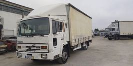 schuifzeil vrachtwagen Volvo FL6 11 Side Curtains Box - Back Hydraulic Platform