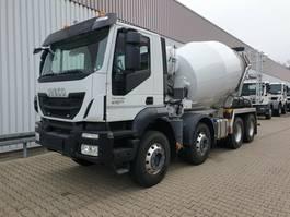 betonmixer vrachtwagen Trakker AD340T41B 8x4 Trakker AD340T41B 8x4 Stetter 9m³