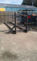 flat rack zeecontainer ABB haakarm 20ft frame