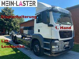 chassis cabine vrachtwagen MAN TGS 26.320 6x2 Lift-Lenkachse Staplerhalterung