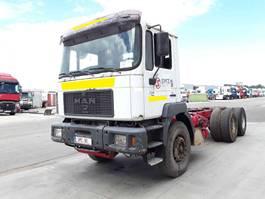chassis cabine vrachtwagen MAN 33.463 1998