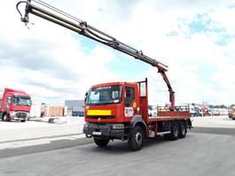 platform vrachtwagen Renault Kerax 370 DXI palfinger pk 16502 2004