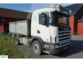 kipper vrachtwagen > 7.5 t Scania R164 580 6x2 tipper truck 2001