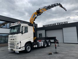 zware last trekker Volvo FH 540 6X2 EFFER 505 S5 FLY JIB S3 EURO 6 2014