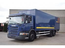bakwagen vrachtwagen > 7.5 t Scania P280 6X2 BOX / LIFT  2000KG 2009