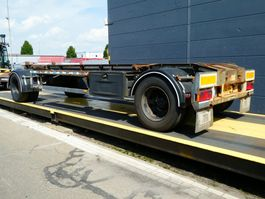 container chassis aanhanger GS Meppel AC-2000N 2002