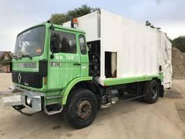 vuilniswagen vrachtwagen Renault G210 **FULL STEEL-LAMES-FRENCH TRUCK** 1990