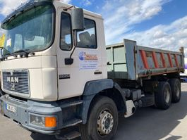 kipper vrachtwagen > 7.5 t MAN 33.343. 6X4  BLAD X BLAD 1998