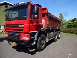 kipper vrachtwagen > 7.5 t Ginaf X 3335 S 6X6 2012