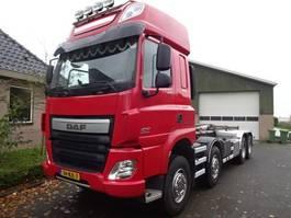 containersysteem vrachtwagen DAF CF 460 FAD 8X4 BB 2017