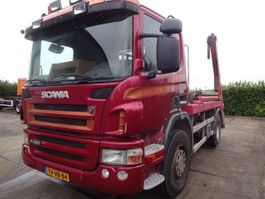 containersysteem vrachtwagen Scania P 380 4X2 Portaal Systeem 2009