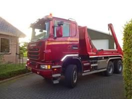 containersysteem vrachtwagen Scania G450 6X6 BB 2013