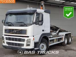 containersysteem vrachtwagen Volvo FM12 380 6X4 Manual Steelsuspension Euro 3 2004