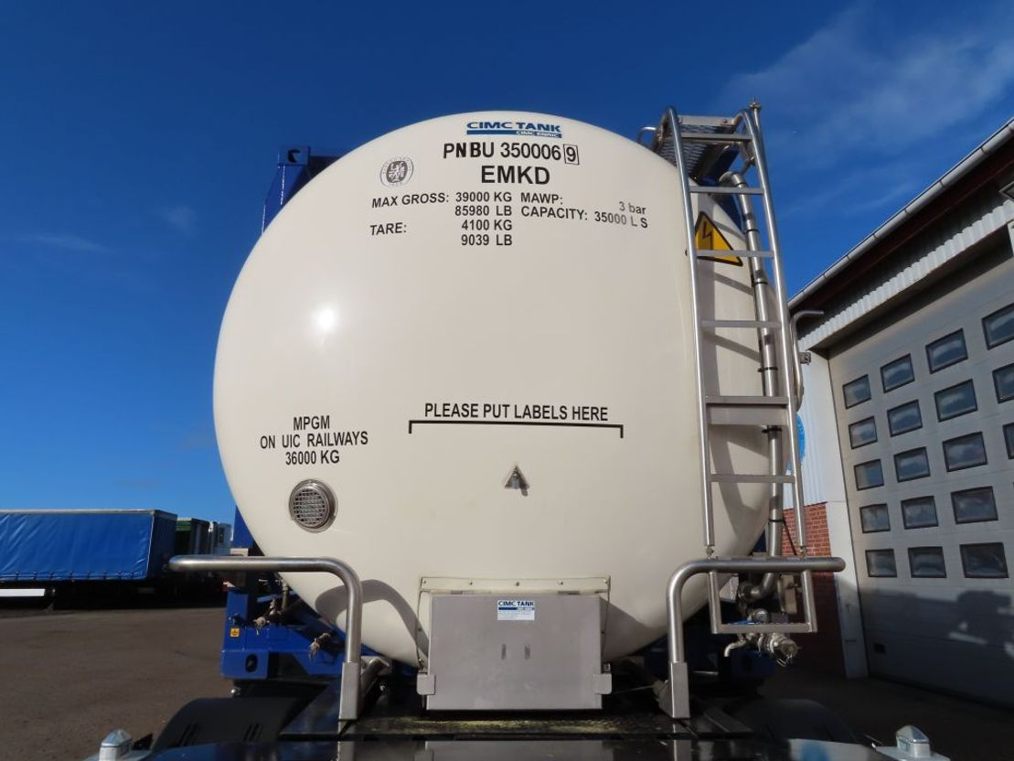 tankcontainer CIMC 20ft tank 2019