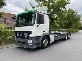 containersysteem vrachtwagen Mercedes-Benz Actros 2541 6x2 MEILLER RK20.70 Abrollkipper 2009
