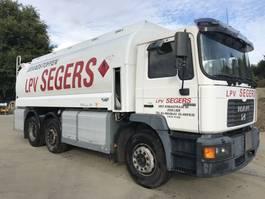 tankwagen vrachtwagen MAN F2000 25.284 6x2 **20.000LTr TANK-BELGIAN TRUCK** 2000