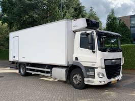 koelwagen vrachtwagen DAF CF 290 euro 6 klege box carrier supra 750 d+e 2014