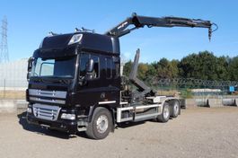 containersysteem vrachtwagen DAF CF 360 L 6x2/4 - 224.629 Km - KRAAN 23 T/M - REMOTE CONTROL - EURO 5