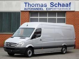 gesloten bestelwagen Mercedes Benz Sprinter 313 Cdi Maxi L4H2 Extra Lang Lbw Klima 3.5 t Euro 5 2012
