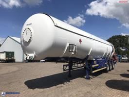 tankoplegger Hobur Gas tank steel 53 m3 + pump 2001