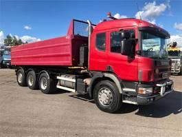 kipper vrachtwagen > 7.5 t Scania P124G 8x4 2000