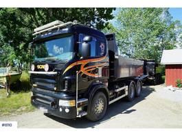 kipper vrachtwagen > 7.5 t Scania R620 6x4 tipper truck with triple trolley WATCH VI 2008