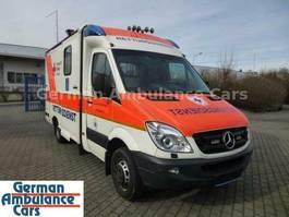 ambulance bedrijfswagen Mercedes-Benz Motorschaden 516 cdi RTW mit Tragestuhl 2011