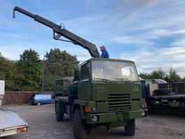 leger vrachtwagen Bedford Bedford TM 4X4 Crane Hiab truck ex army 1989