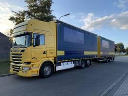 schuifzeil vrachtwagen Scania R 520 V8 EURO 6 FULL OPTION !!! 118 CM3 COMBY 2014