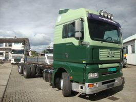 chassis cabine vrachtwagen MAN TGA 26.440 MANUAL GEARBOX 6X2 CHASSIS 2007