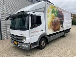 bakwagen vrachtwagen > 7.5 t Mercedes Benz ATEGO 816 L bakwagen laadklep 2012