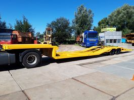 dieplader oplegger All in 2 assige truck transporter NOTE!