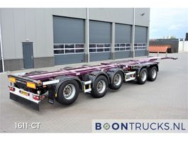 container chassis oplegger D-TEC CT-60-05D   20-30-40-45ft * 3 x STEERING AXLE * 4 x LIFT AXLE 2009