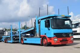 autotransporter vrachtwagen Mercedes-Benz Actros 1844 Euro5 Autotransporter 9PKW AT Motor 2007