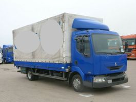 huifzeil bedrijfswagen Renault Midlum 150CDI 6,10m LBW