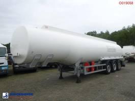 tankoplegger Cobo Fuel tank alu 42.9 m3 / 6 comp + counter 2007