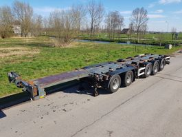 container chassis oplegger D-TEC CT-60-05D Combi chassis 5 assen 2003