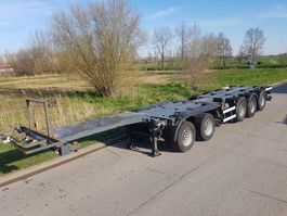 container chassis oplegger Nooteboom CT-60-05D Combi trailer 5 assen 2000