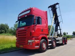 containersysteem vrachtwagen Scania R480 8X2 NCH Manual Retarder 2008