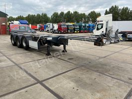 container chassis oplegger D-TEC EuroFlex 20ft 40ft 45ft 2012