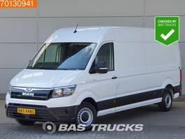 gesloten bestelwagen MAN TGE 3.140 2.0 TDI 140PK 8-Traps Automaat Airco L4H3 L3H2 L4H3 15m3 A/C 2019