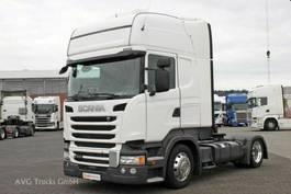 mega-volume trekker Scania R 410 Lowliner Topline LDW ACC Alcoa Retarder 2017