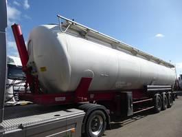 silo oplegger Spitzer SK 65 CAL,Kippsilo,staub und Rieselgüter,65.000 liter 2008