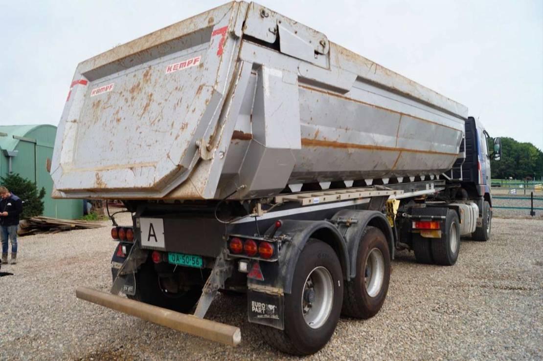kipper oplegger Kempf 2-assige oplegger 2012