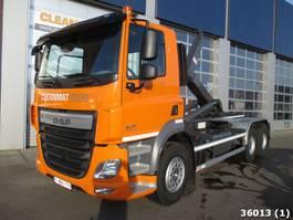 containersysteem vrachtwagen DAF FAT CF 410 6x4 2016