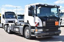 containersysteem vrachtwagen Scania P360 Euro5 6x2 Meiller RK20.65 Lift/Lenkachse 2013