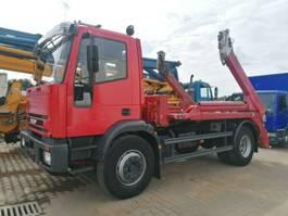 containersysteem vrachtwagen Iveco 180E24 Meiller 3-Sitzer TÜV neu, guter Zustand